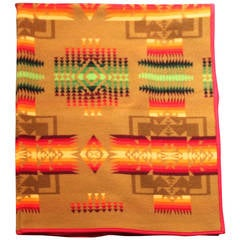 Pendleton Wool Indian Design Camp Blanket
