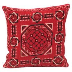 Mexican Handwoven Bandana Pillow