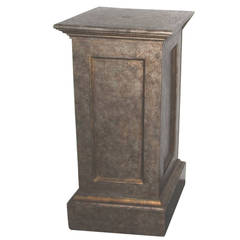 19th Century Pedestal in Original Painted Surface