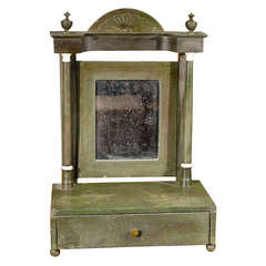English Painted Dressing Mirror, circa 1840