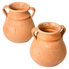 Pair Of Terracotta Pots