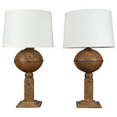 Paper Mache Lamps