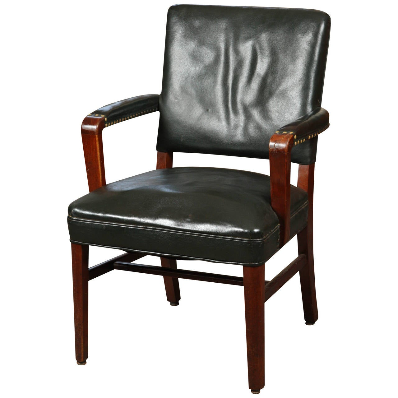 Leather Desk Chair At 1stdibs