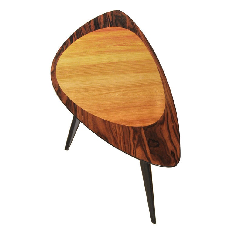 Mid Century Modern Small Round Coffee Table At 1stdibs: Swedish Mid-Century Modern Side/Coffee Table In Elm And