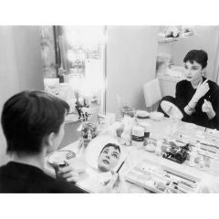 Editioned Audrey Hepburn Portrait by Mark Shaw #11, L.A. 1953