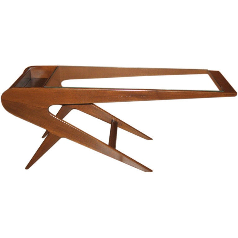 Argentine Mid Century Modern Mesita Relampago Coffee Table At 1stdibs