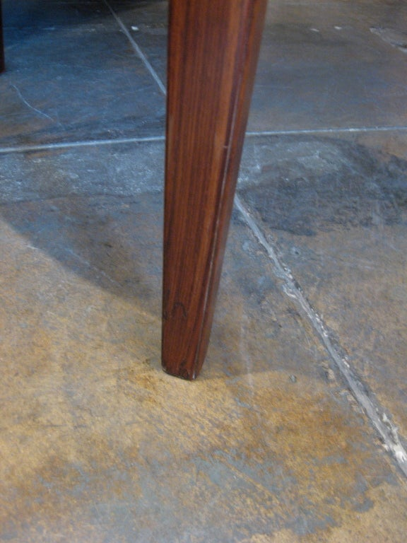 Danish Mid-Century Modern Extendable Rosewood Dining Table 2