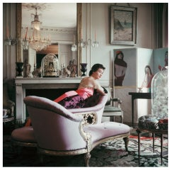 Mark Shaw Editioned Photo-Home of Elsa Schiaparelli, Paris, 1953