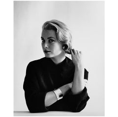 Portrait of Grace Kelly #1-1954 Editioned photo by Mark Shaw