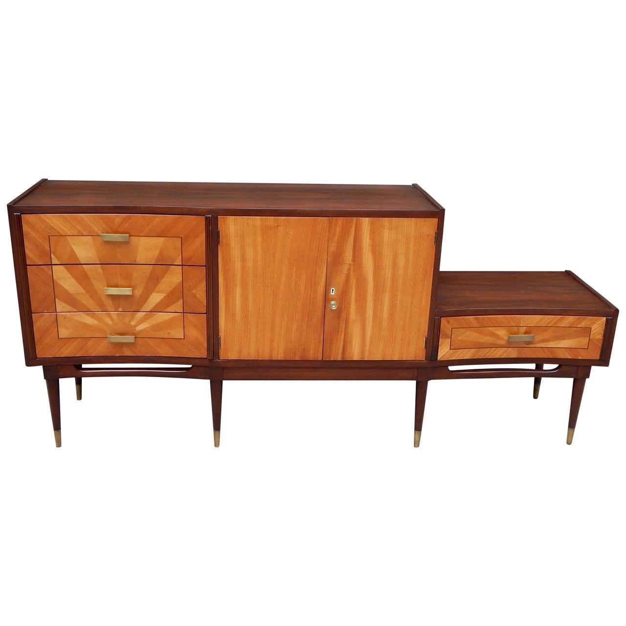 Argentine Mid Century Modern Storage Cabinet Or Dresser At