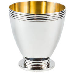 Sterling Silver Champagne Beaker by Jean Puiforcat