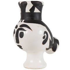 Chouette Femme or Owl Woman Vase by Picasso for Madoura Ceramics, No. 119