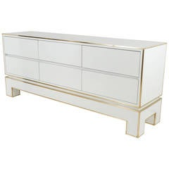 Moderne French Large Chest of Drawers by Alain Delon for Maison Jansen