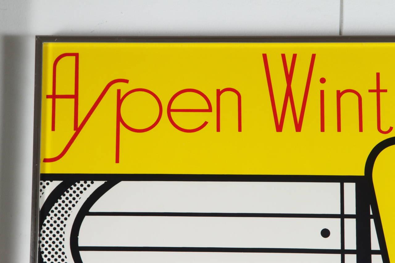 Aspen Winter Jazz Serigraph by Roy Lichtenstein 2
