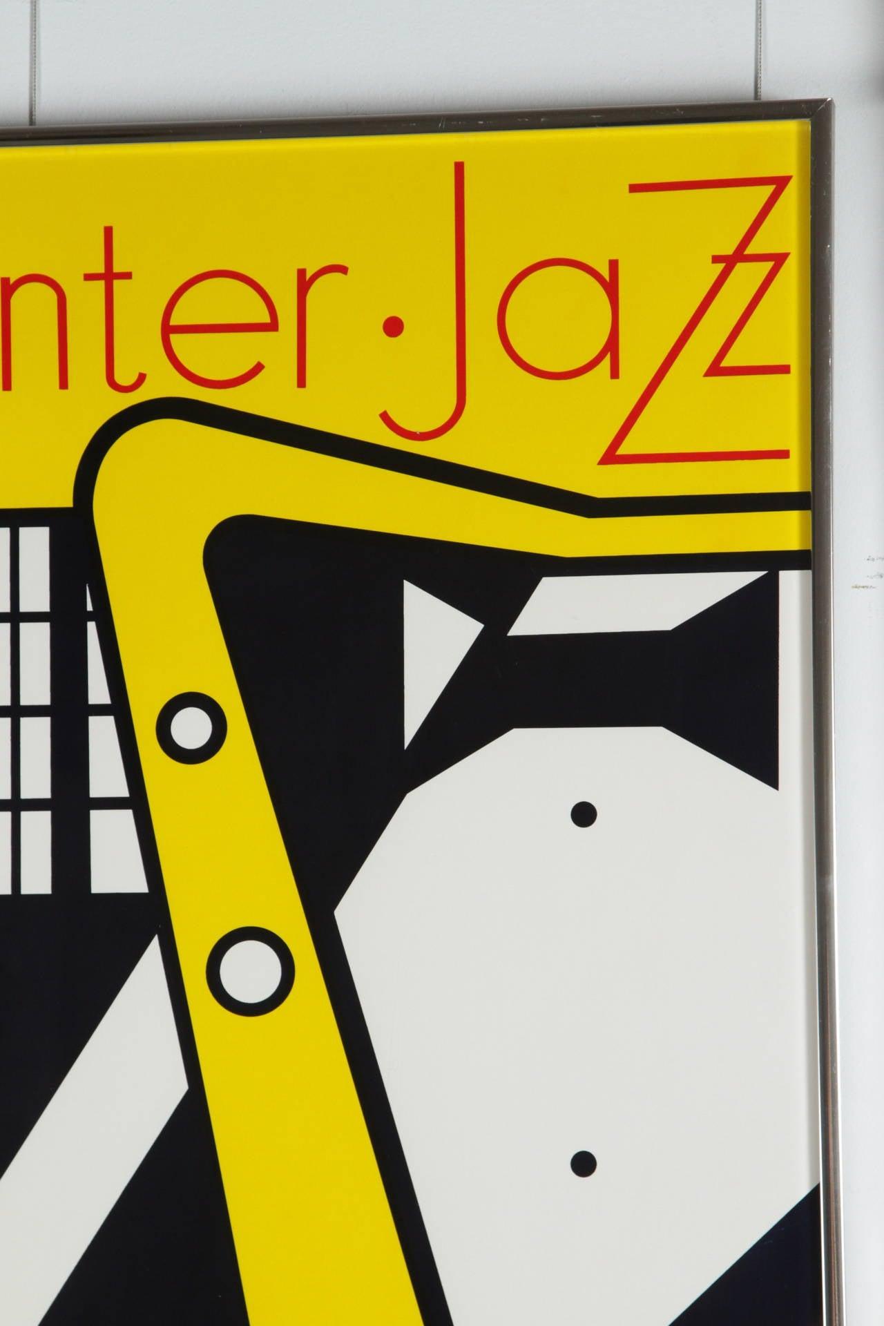 Aspen Winter Jazz Serigraph by Roy Lichtenstein 3