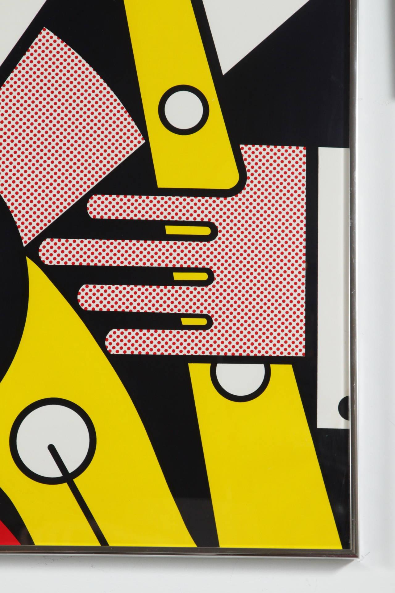 Aspen Winter Jazz Serigraph by Roy Lichtenstein 7