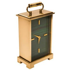 Carriage Style Desk Clock by Cartier