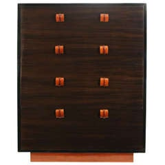 Tall Chest of Drawers by Gilbert Rohde for Cavalier Furniture