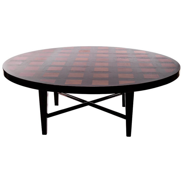 large round dining table by william haines for sale at 1stdibs