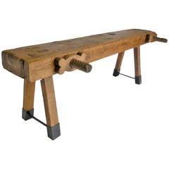 19 c. Carpenter's Bench