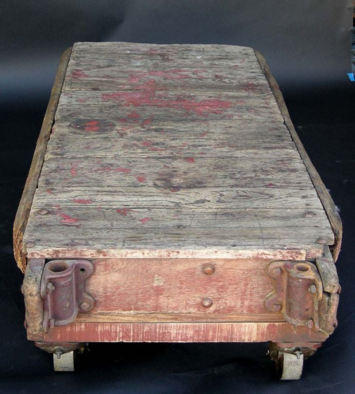 Vintage Industrial Space Age Coffee Table For Sale At Pamono: Industrial Cart Coffee Table At 1stdibs