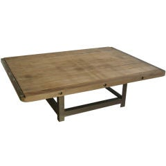 Antique French Oak Coffee Table