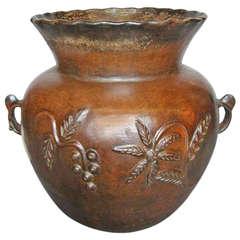19th Century Ceramic Pot