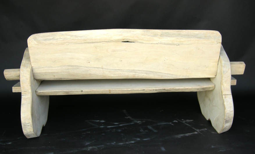 Tree Trunk Bench At 1stdibs