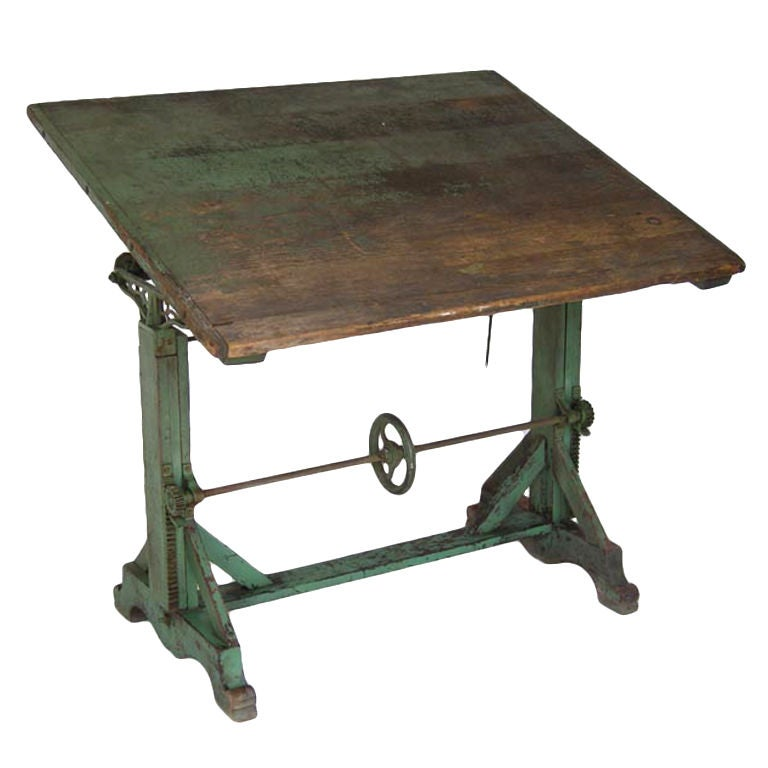 This vintage drafting table by hamilton is no longer available - Antique Drafting Table At 1stdibs