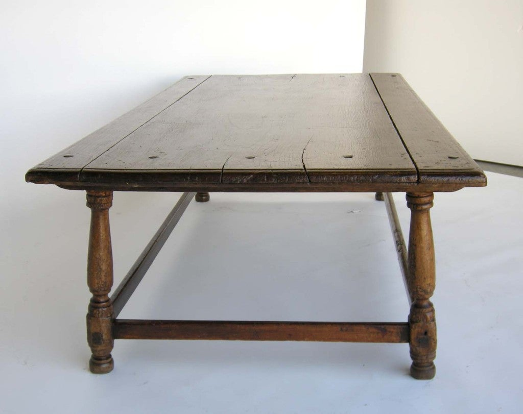 Spanish Colonial Low Tavern Table At 1stdibs