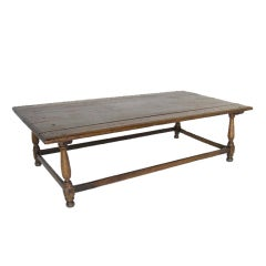 Spanish Colonial Low Tavern Table