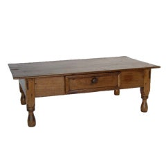 Antique One Wide Plank Coffee Table