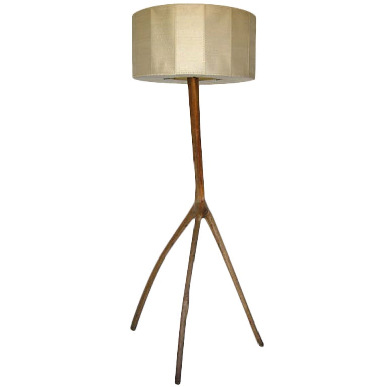 Tall Mangrove Floor Lamp At 1stdibs
