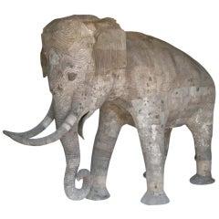 Life Size Papier Mache Elephant