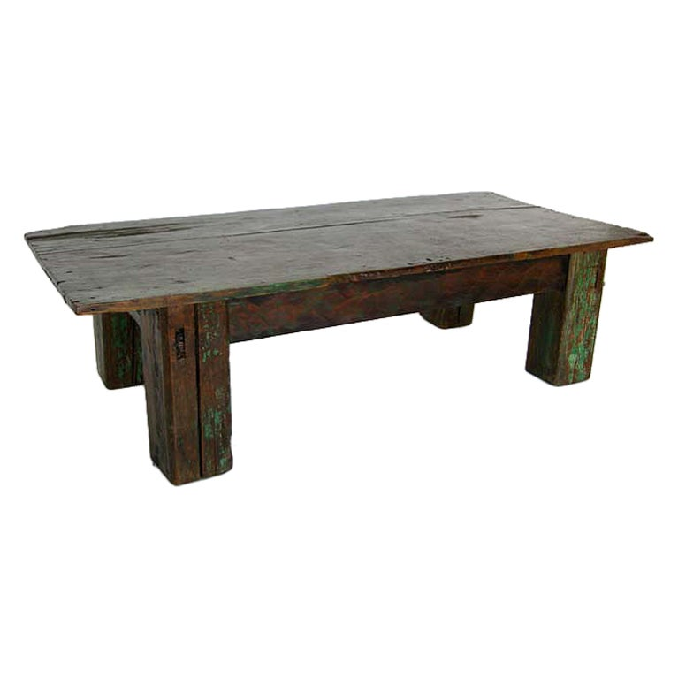 This Reclaimed Wood Coffee Table Is No Longer Available