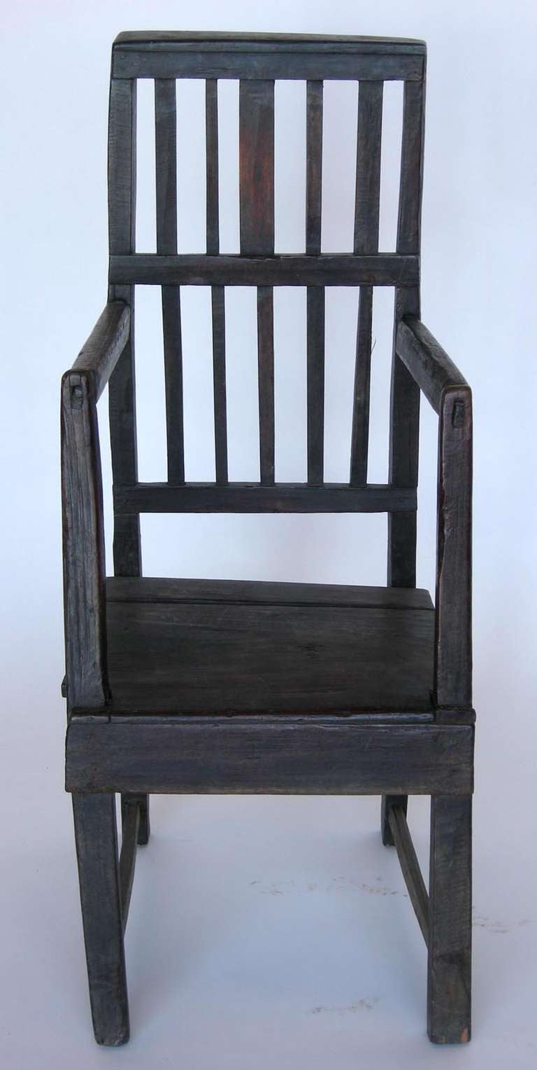 19th Century Primitive Chair At 1stdibs