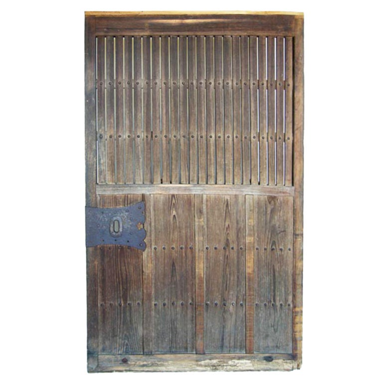 Antique Japanese Door At 1stdibs