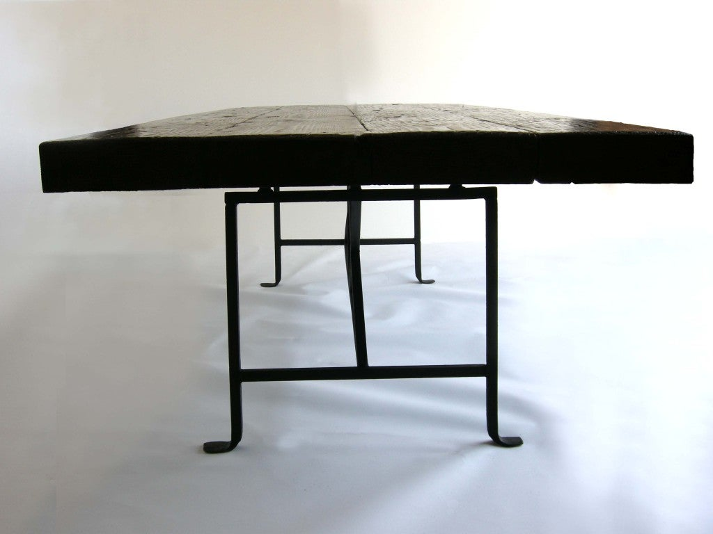 reclaimed wood dining table at 1stdibs