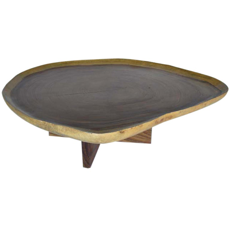 free form wood coffee table at 1stdibs