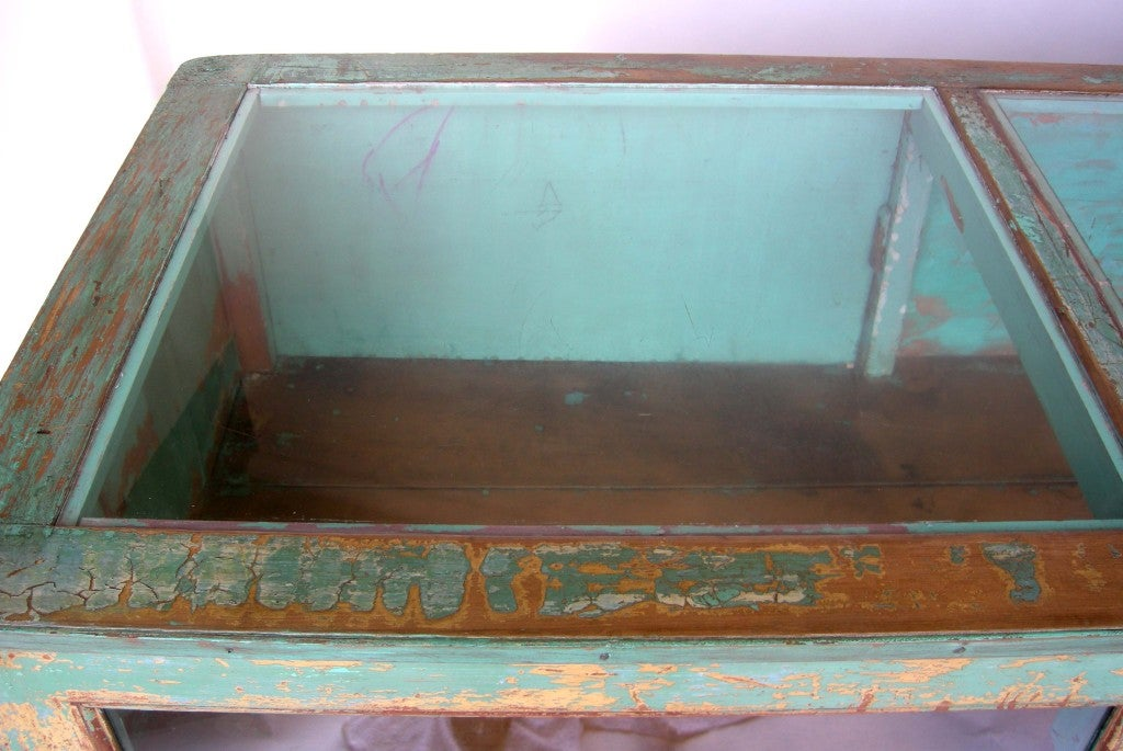 Antique Painted Mostrador - Store Display Counter 4