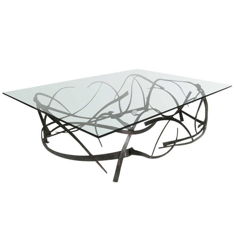 Ribbon Coffee Table At 1stdibs
