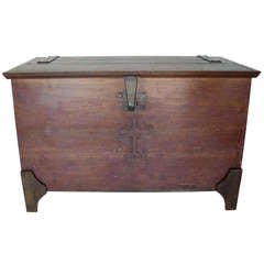 19th Century Sacristy Chest