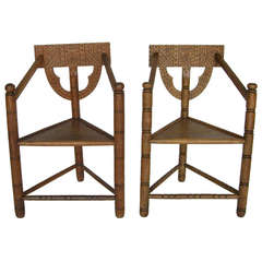 Swedish Monk Chairs