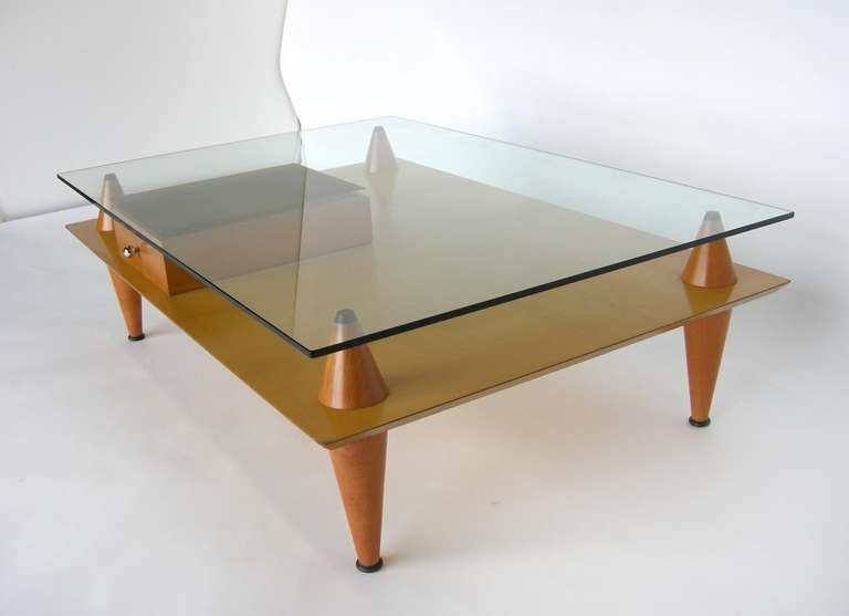 Santa & Cole Modern Coffee Table For Sale 2