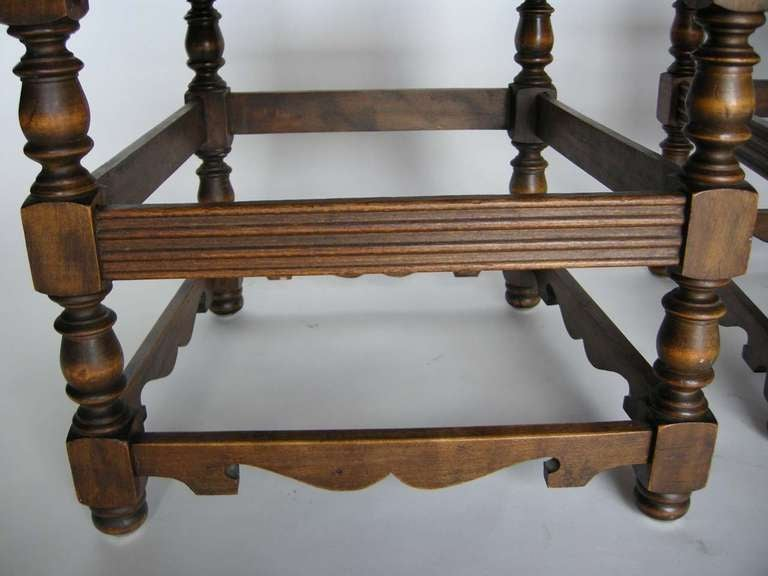 Four Spanish Chairs For Sale 1