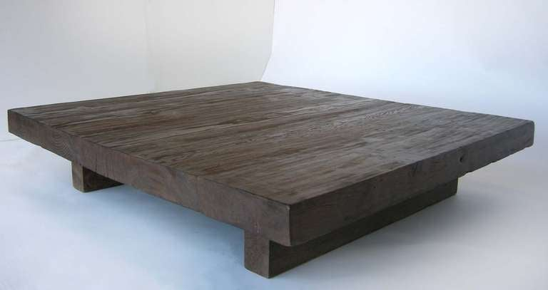 Low coffee table at 1stdibs for Low coffee table wood