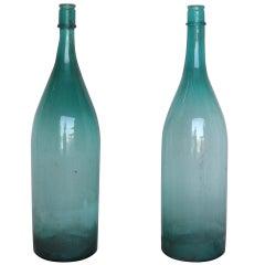 large Scale Sake Bottles