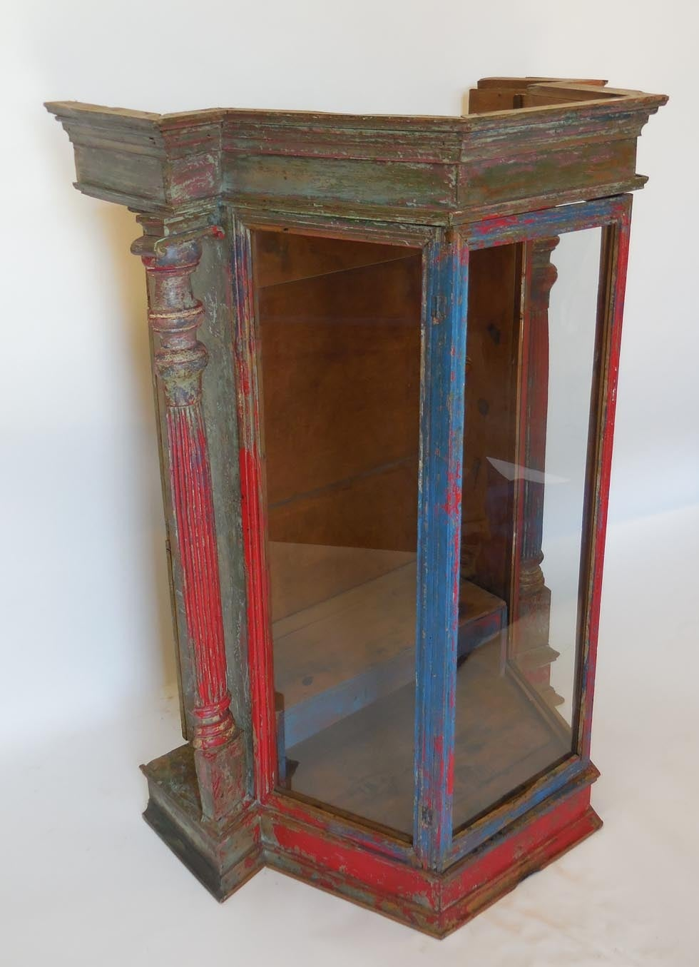 Large Scale Antique Saint Display Case For Sale At 1stdibs