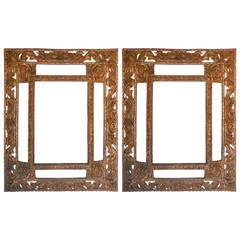 Pair of Large-Scale Mirrors