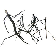 Stick Monkey Sculptures